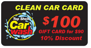 $100 Car Wash Gift Card