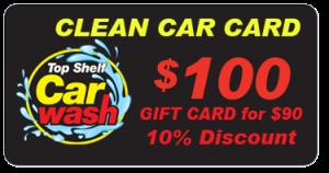 $100 Car Wash Gift Card