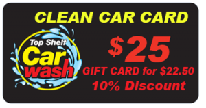 $25 Car Wash Gift Card