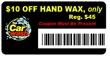 $10 OFF HAND WAX with Coupon